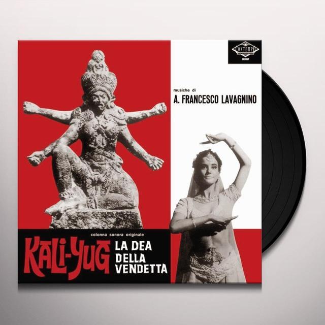 Angelo Lavagnino KALI-YUG LA DEA DELLA VENDETTA / O.S.T. Vinyl Record