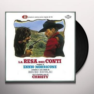 Ennio Morricone LA RESA DEI CONTI / O.S.T. Vinyl Record