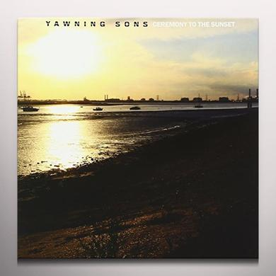 YAWNING SONS CEREMONY TO THE SUNSET Vinyl Record - Colored Vinyl