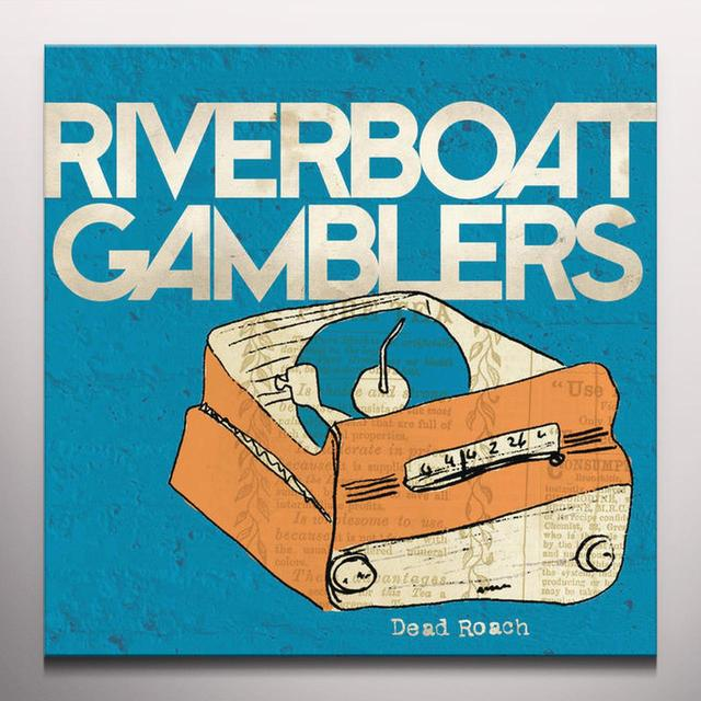 Riverboat Gamblers DEAD ROACH Vinyl Record - Red Vinyl