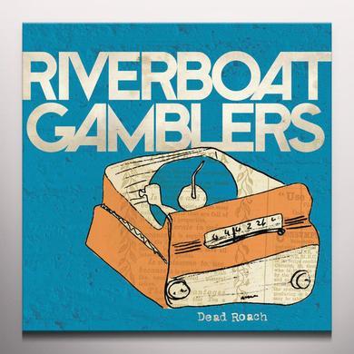 Riverboat Gamblers DEAD ROACH Vinyl Record - Red Vinyl
