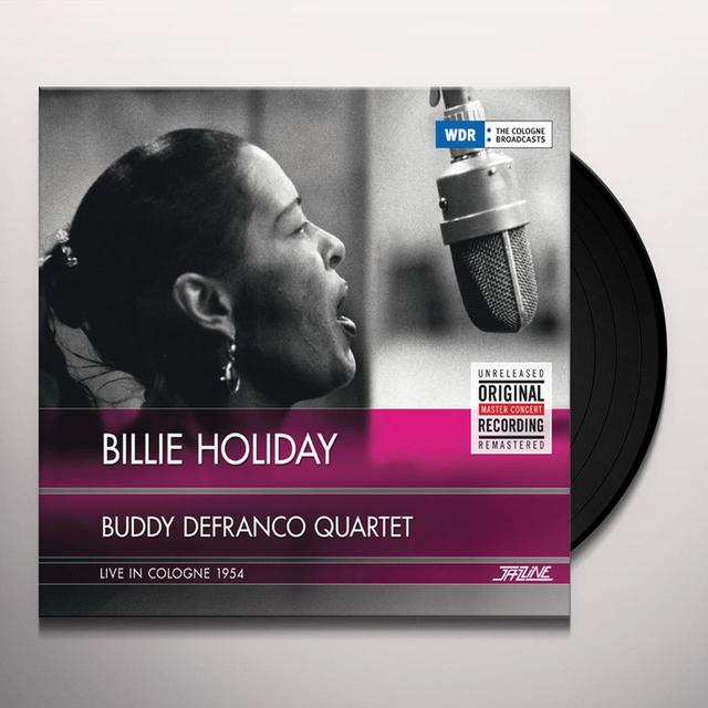 Billie Holiday LIVE IN COLOGNE 1954 Vinyl Record