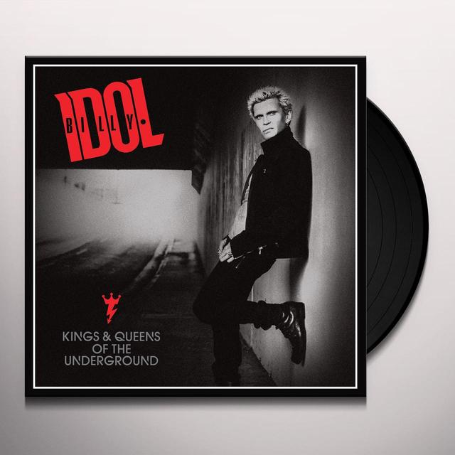Billy Idol KINGS & QUEENS OF THE UNDERGROUND Vinyl Record - Digital Download Included