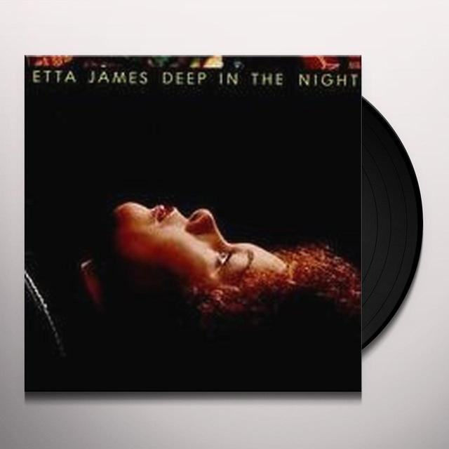 Etta James DEEP IN THE NIGHT Vinyl Record