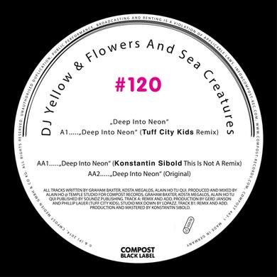 Dj Yellow / Flowers & Sea Creatures DEEP INTO NEON Vinyl Record