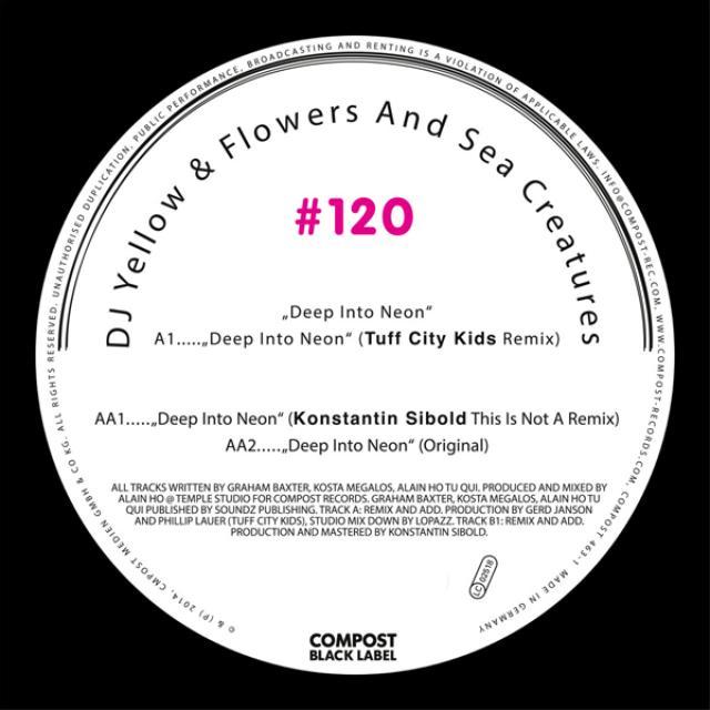 Dj Yellow / Flowers & Sea Creatures