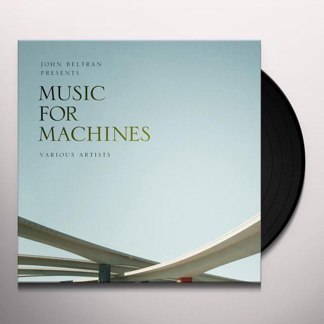 JOHN BELTRAN PRESENTS MUSIC FOR MACHINES 1 Vinyl Record