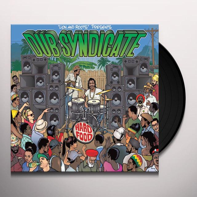 Dub Syndicate HARD FOOD Vinyl Record - w/CD