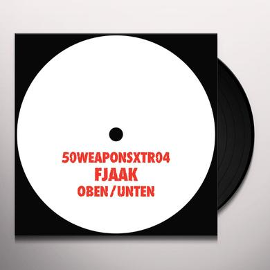 Fjaak OBEN / UNTEN Vinyl Record