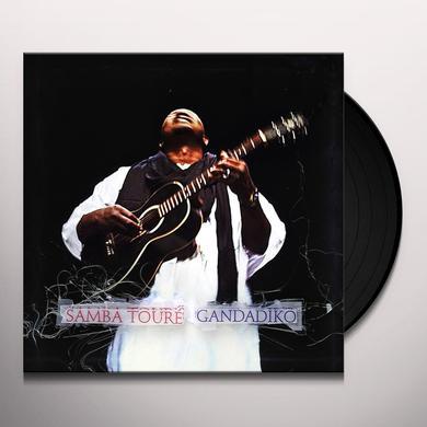 Samba Toure GANDADIKO Vinyl Record - Digital Download Included