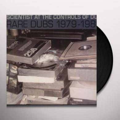Scientist AT THE CONTROLS OF DUB: RARE DUBS 1979-1980 Vinyl Record