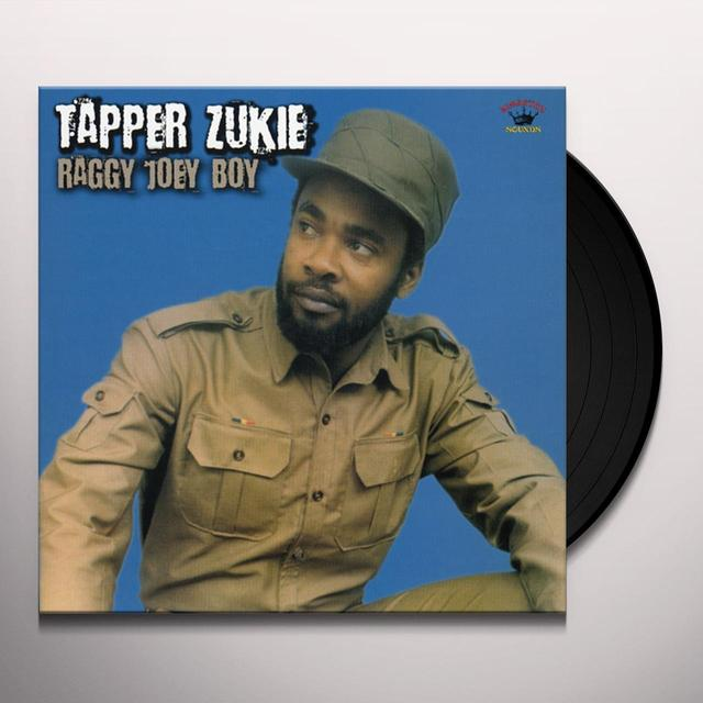 Tapper Zukie RAGGY JOEY BOY Vinyl Record