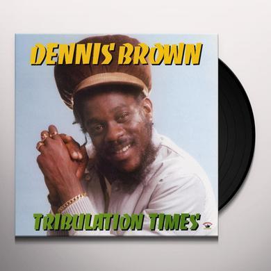 Dennis Brown TRIBULATION TIMES Vinyl Record