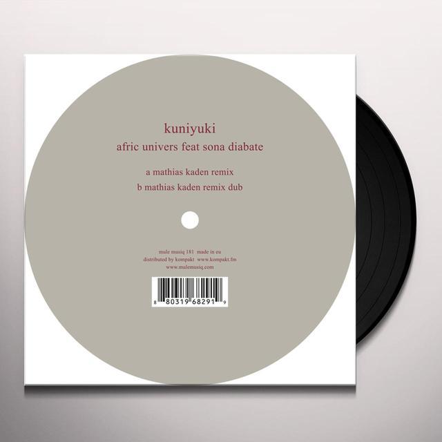 Kuniyuki AFRIC UNIVERS Vinyl Record