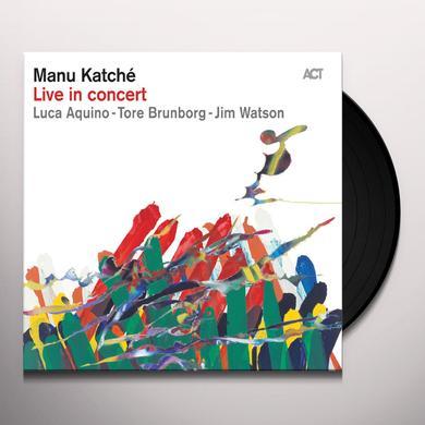 Manu Katché LIVE IN CONCERT Vinyl Record