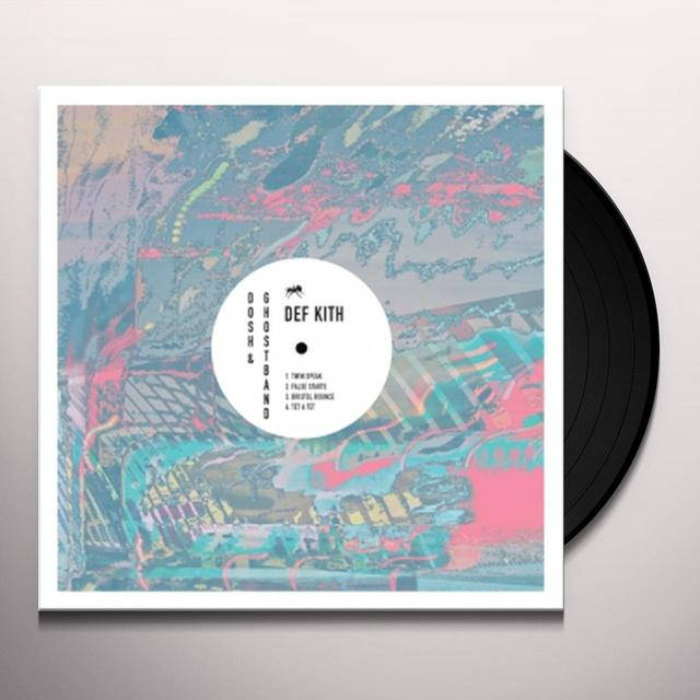 DOSH / GHOSTBAND DEF KITH Vinyl Record