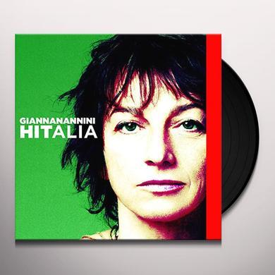 Gianna Nannini HITALIA Vinyl Record