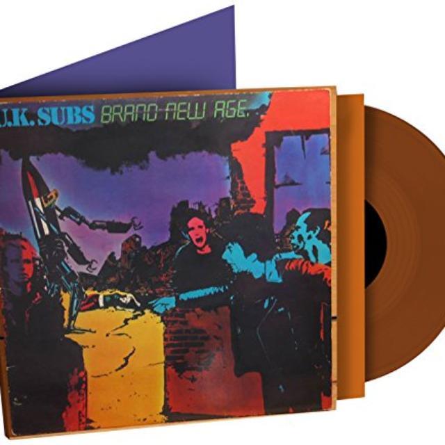 U.K. Subs BRAND NEW AGE Vinyl Record