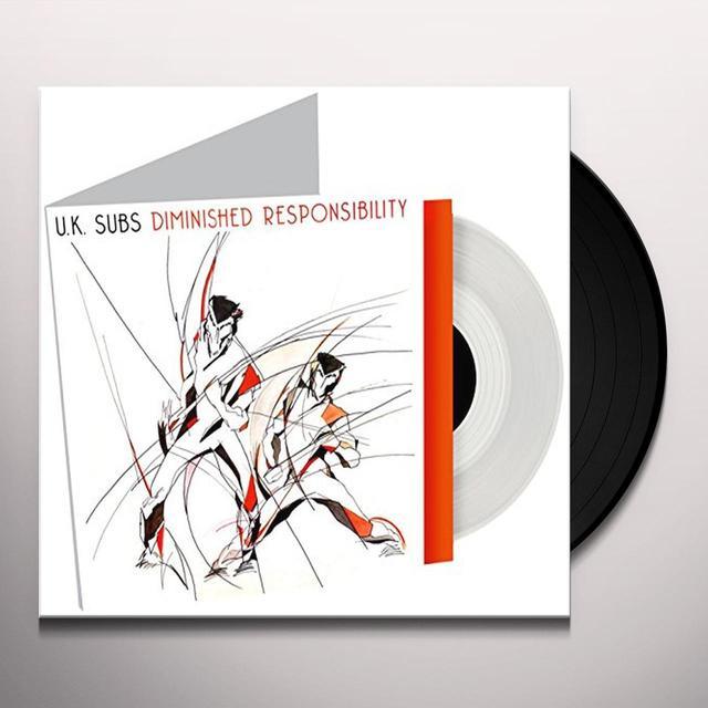 U.K. Subs DIMINISHED RESPONSIBILITY Vinyl Record - UK Import