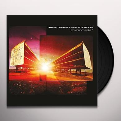 The Future Sound Of London ENVIRONMENTS 4 Vinyl Record - UK Import