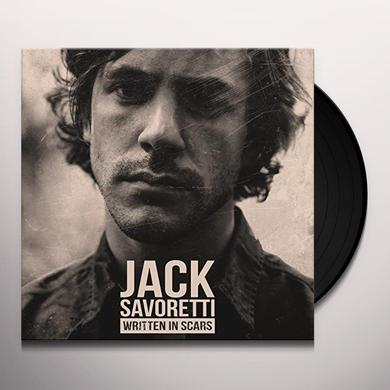 Jack Savoretti WRITTEN IN SCARS Vinyl Record - Holland Import