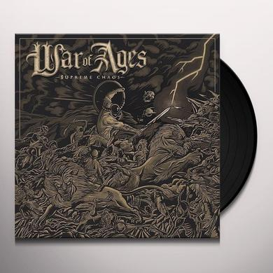 War Of Ages SUPREME CHAOS Vinyl Record - UK Import