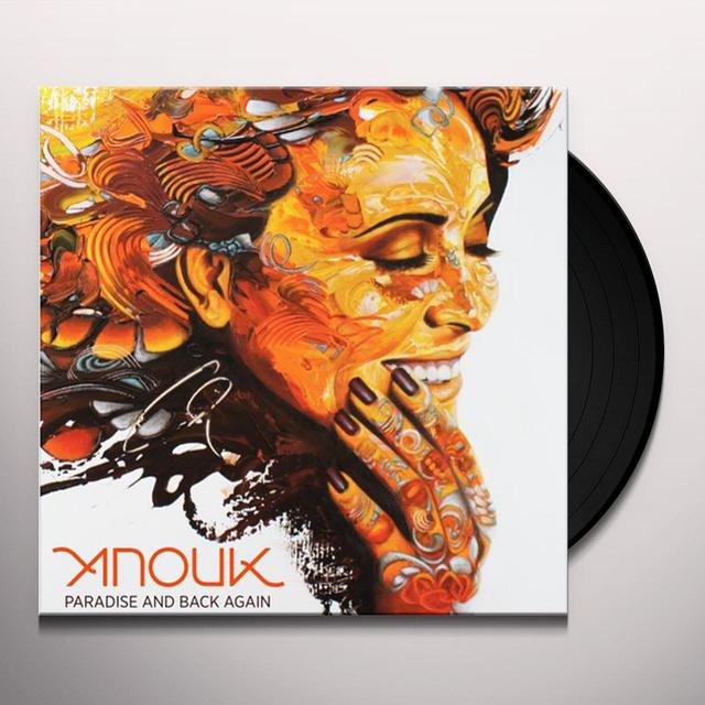 Anouk PARADISE & BACK AGAIN Vinyl Record - Holland Release
