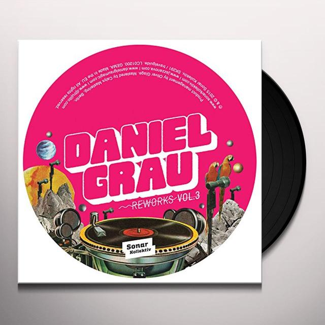 Daniel Grau REWORKS 3 Vinyl Record - UK Import