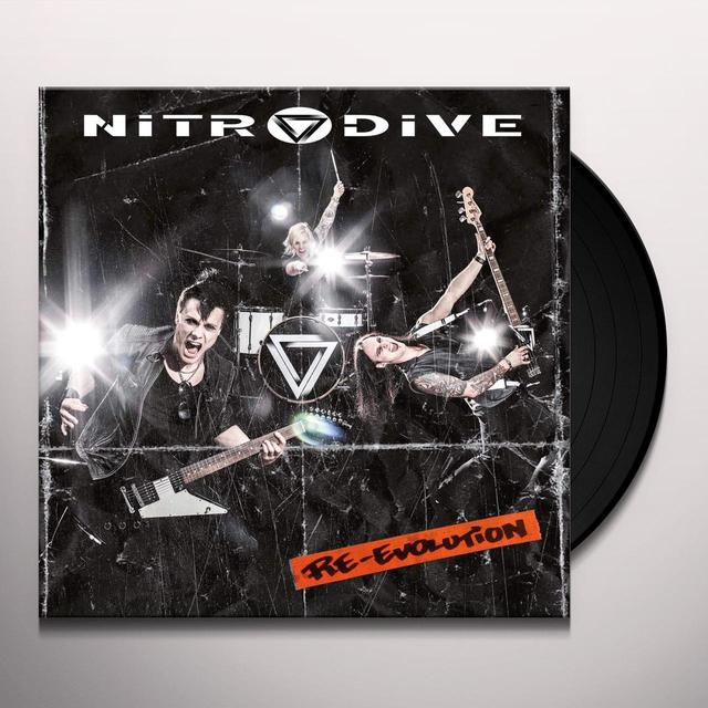 NITRODIVE RE-EVOLUTION (GER) Vinyl Record