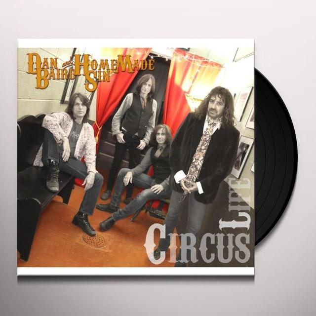 Dan Baird CIRCUS LIFE Vinyl Record - UK Import