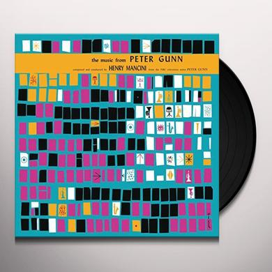 Henry Mancini MUSIC FROM PETER GUN / O.S.T. Vinyl Record