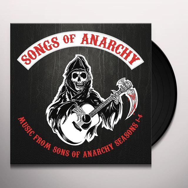 SONGS OF ANARCHY: MUSIC FROM SONS OF ANARCHY 1-4 SONGS OF ANARCHY: MUSIC FROM SSN OF ANARCHY 1-4 Vinyl Record
