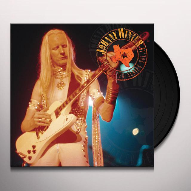 Johnny Winter LIVE BOOTLEG SERIES 10 Vinyl Record - Colored Vinyl, Limited Edition, 180 Gram Pressing