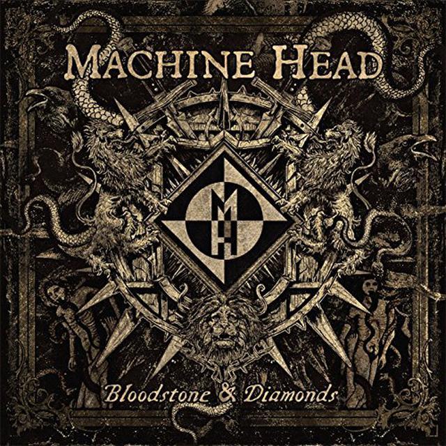 Machine Head BLOODSTONE & DIAMONDS: PICTURE DISC Vinyl Record