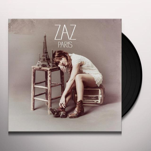 Zaz PARIS Vinyl Record - Italy Import