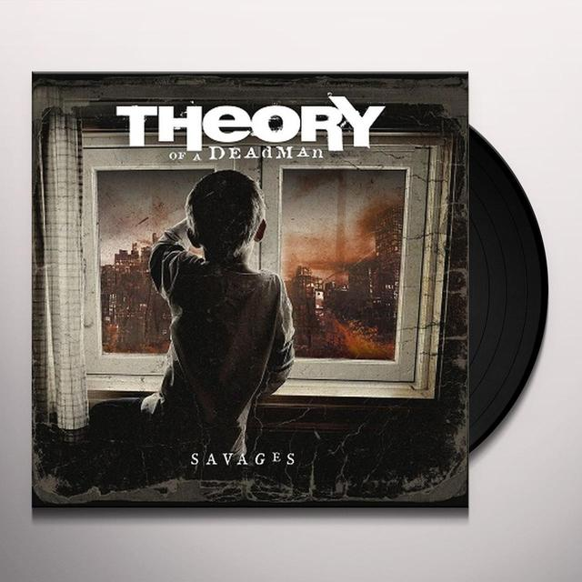 Theory of a Deadman SAVAGES Vinyl Record - Canada Import