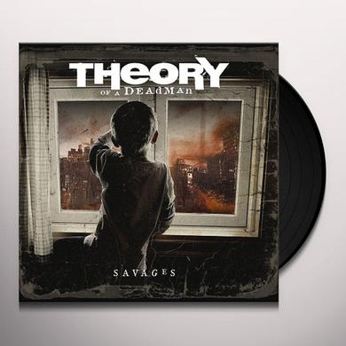 Theory of a Deadman SAVAGES Vinyl Record