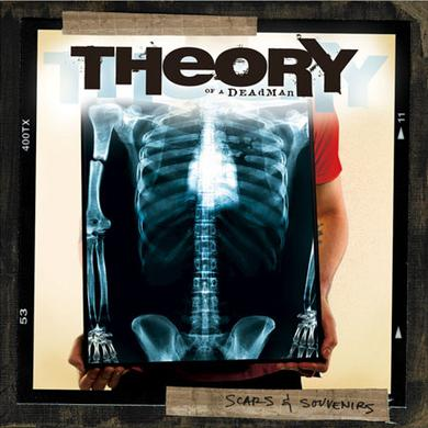 Theory of a Deadman SCARS & SOUVENIRS Vinyl Record