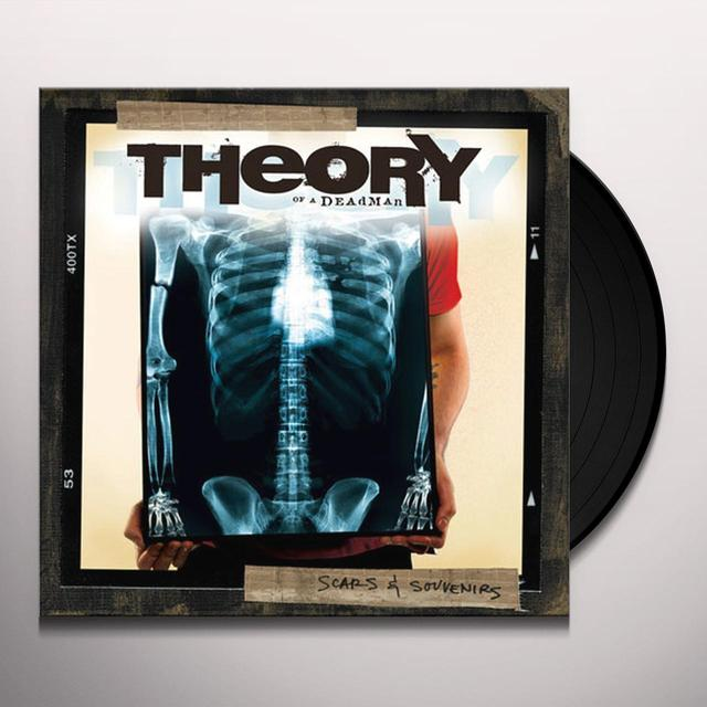 Theory of a Deadman SCARS & SOUVENIRS Vinyl Record - Canada Import