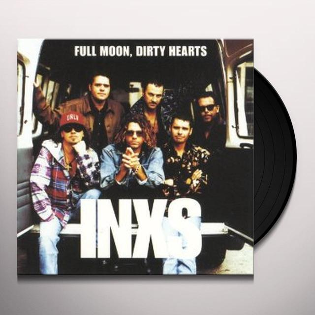 Inxs FULL MOON DIRTY HEARTS Vinyl Record - UK Import