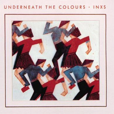 Inxs UNDERNEATH THE COLOURS Vinyl Record