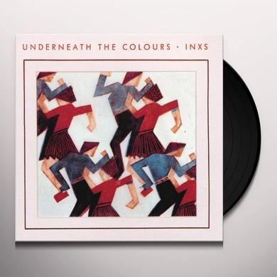 Inxs UNDERNEATH THE COLOURS Vinyl Record - UK Import