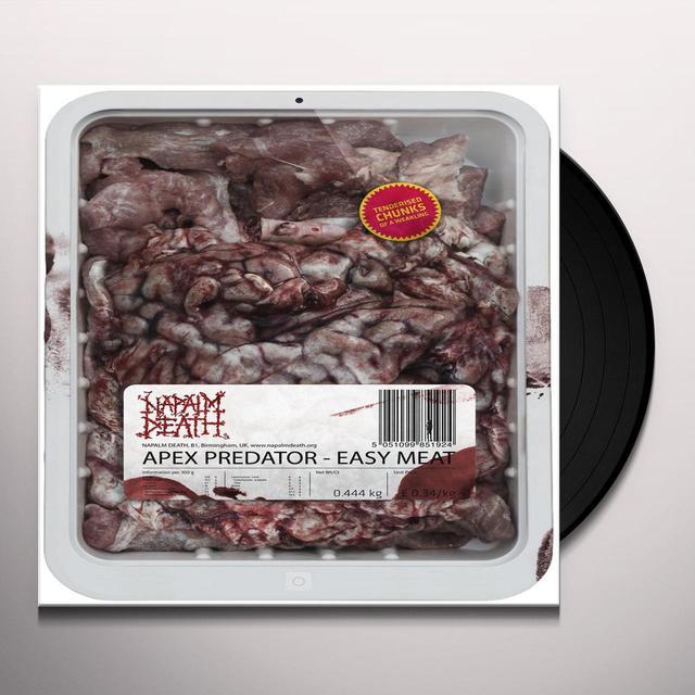 Napalm Death APEX PREDATOR - EASY Vinyl Record