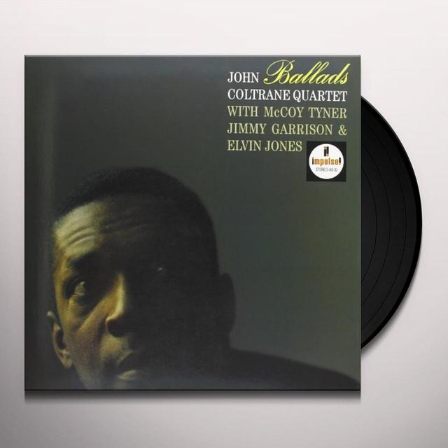 John Coltrane BALLADS Vinyl Record - Gatefold Sleeve, 180 Gram Pressing