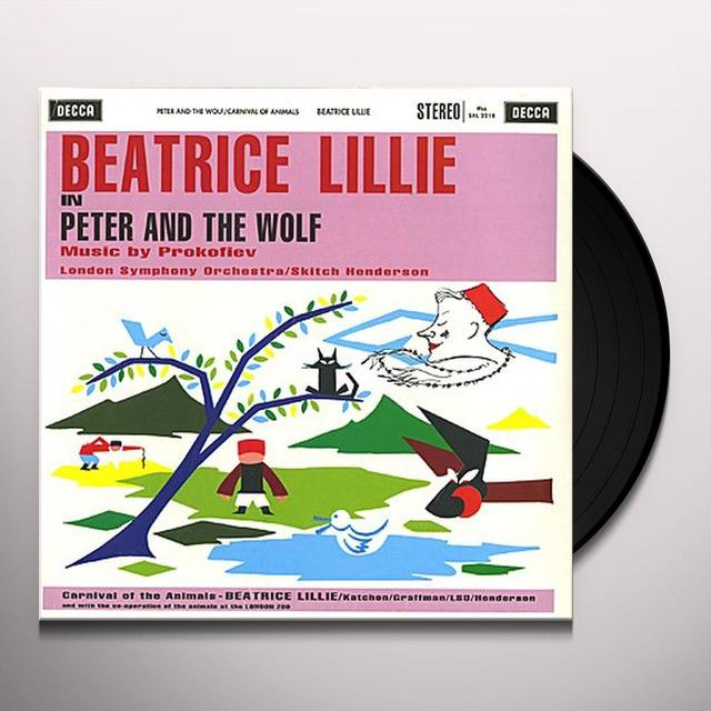 Skitch Henderson PROKOFIEV / PETER AND THE WOLF Vinyl Record