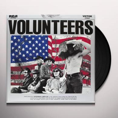 Jefferson Airplane VOLUNTEERS Vinyl Record - 180 Gram Pressing