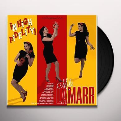 Miki Lamarr IN HIGH FIDELITY Vinyl Record