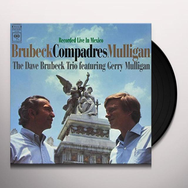 Dave Brubeck / Gerry Mulligan COMPADRES Vinyl Record - 180 Gram Pressing