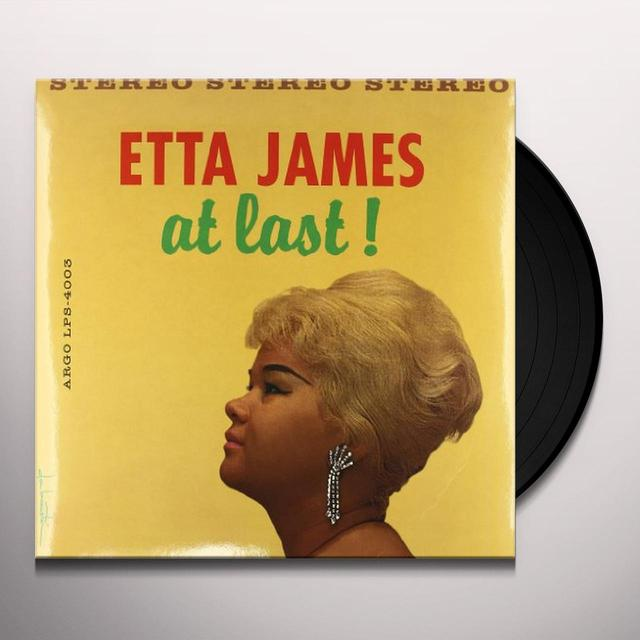Etta James AT LAST Vinyl Record - 180 Gram Pressing