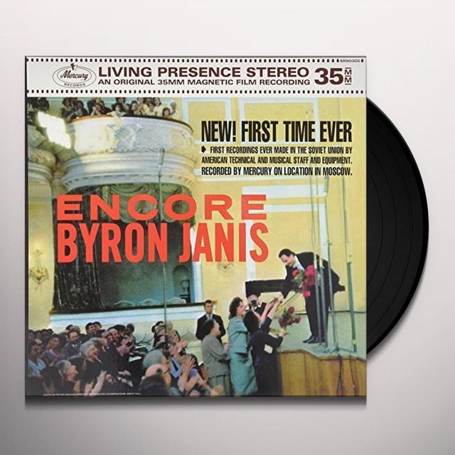 Byron Janis ENCORE Vinyl Record